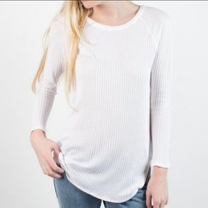 Chaser waffle knit longsleeve thermal